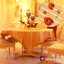 【聚至尊】ZINA欧式奢华强防水茶几巾桌布/布艺桌旗台布 精品包邮 价格:9.99