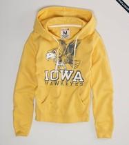 特价美国代购AmericanEagle鹰 女士字母套头卫衣带帽秋冬新款现货 价格:299.00