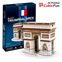 包邮实体 正品乐立方 C045H法国凯旋门 3D立体拼图 模型男生礼物 价格:30.00