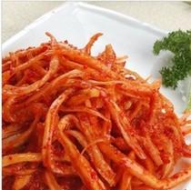 韩国泡菜拌菜 山桔梗 狗宝咸菜下饭菜饭(大盘)6元运费不限重 价格:18.00