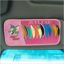 包邮卡通cd夹猫和老鼠车用遮阳板汽车内饰精品CD包车载遮阳板套 价格:15.00