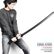 美国正品冷钢Cold steel高硬度柔性塑钢武士刀长款92BKL 健身防身 价格:468.00