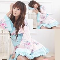 日式和服开衫式性感睡衣酒店桑拿洗浴服制服诱惑ds演出服 价格:15.00