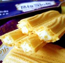 6月新货韩国进口零食可拉奥 奶油蛋卷奶油榛子瓦饼干142g(220g) 价格:10.00