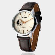 艾奇手表 全自动机械表 皮带男表 镂空手表 正品牌商务时尚表8528 价格:229.00