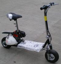迷你4950cc汽动滑板车助力踏板自行车摩托车可改电启动及纯汽油版 价格:699.00