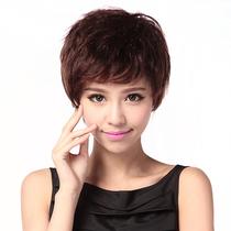 可利丝假发优质百分百真发发套头套短卷发 女卷发假发女Z151 价格:297.60