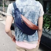 男士男包腰包休闲 韩版 潮流帆布包胸包户外运动小包单肩包斜挎包 价格:16.50