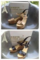 清仓现货美国正品NINE WEST/玖熙MAXIMUMO防水台凉鞋女鞋 价格:220.00