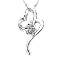 家福珠宝 专柜正品轻逸18K金钻石吊坠项坠 送925银链包邮 价格:816.00