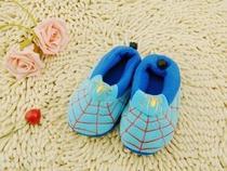 双十1大促 蜘蛛侠 精品儿童棉鞋 棉拖鞋 雪地靴 加厚保暖 价格:13.60