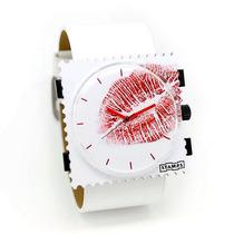 STAMPS 诗坦表 三种佩戴方法创意手表 Kiss Me 唇真 时尚搭配 价格:449.10