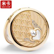 包邮米卡化妆镜天使之恋随身便携双面小镜子 梳妆折叠妇女节礼物 价格:139.00