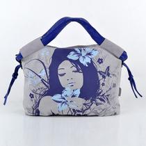 天天特价黑眼睛布包正品专柜 新款女包 惊梦-小手提包包邮蓝色 价格:85.57