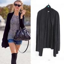 秋装2013新款 hm风宽松针织长袖开衫针织衫防晒衫 女装莫代尔垂感 价格:32.40
