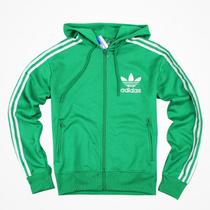 代购H仓现货 专柜正品adidas三叶草adicolor 火鸟带帽衫 卫衣夹克 价格:377.00