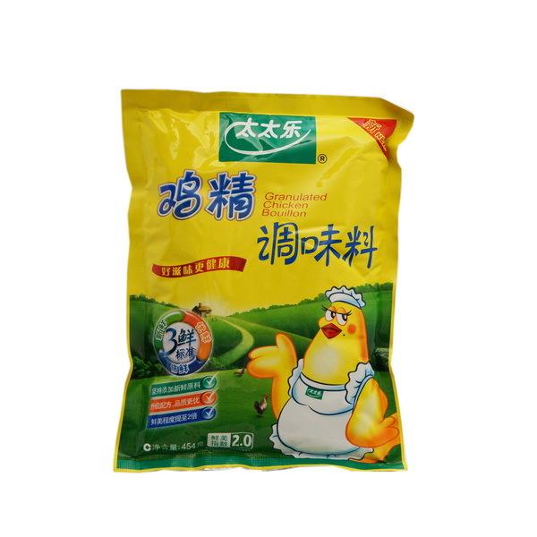 【天猫超市】 太太乐鸡精454g 调味品调味料 替代味精 三鲜鸡精 价格:15.79