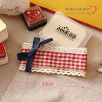 出口小礼物韩国正品手工蝴蝶结发饰头饰边夹发梳发圈发箍M237 价格:9.80