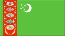 7号土库曼斯坦  各种规格旗帜串旗万国旗党旗团旗可定做 价格:3.00