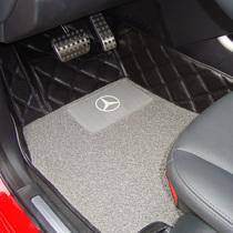 包邮御盾正品奔驰B200/A160/A180专用皮革丝圈地毯大包围汽车脚垫 价格:490.00