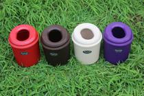 新款正品飞达三和小号大号波纹卫生桶垃圾桶台式桌面收纳桶 价格:9.90