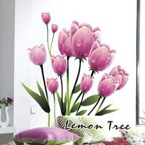 【柠檬树】卧室客厅电视墙沙发背景墙家居装饰可移除墙贴纸 包邮 价格:39.78
