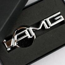 奔驰AMG御用改装钥匙扣 汽车钥匙链 金属钥匙圈 C200 B200 A160 E 价格:20.00