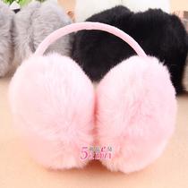 保暖毛毛耳套女耳罩 仿兔毛耳捂耳暖护耳毛绒耳罩耳包冬 可选 价格:5.80