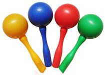 厂家直销 打击乐器砂槌 奥尔夫乐器塑料砂球/沙锤*大号砂锤 价格:4.50