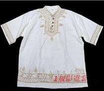民族风印度泰国尼泊尔服装男装泰国盘花衣 价格:75.00