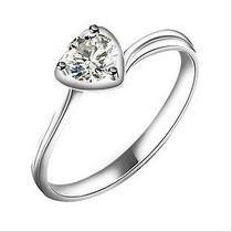单钻8号钻戒13号钻石戒指SI 克拉10号白金圆钻南非珠宝金伯利黄金 价格:292.04