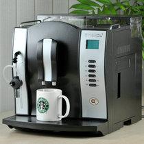 包邮~意式全自动咖啡机家用商用 欧洲版双锅炉自动打奶泡豆粉双用 价格:2530.00