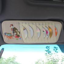 拉惟卡车饰卡通CD夹 猫和老鼠车用遮阳板 汽车内饰精品 CD袋 CD包 价格:12.00