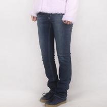 专柜JEANS清仓精品水洗低腰长裤弹力牛仔 直筒 女装 品牌 裆 显瘦 价格:29.00