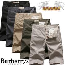 Burberry/巴宝莉 春款格子男士短裤 男士休闲裤短裤 男 夏中裤 男 价格:108.00
