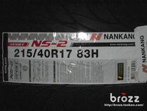 全新正品南港轮胎 215/40 R17 跑车花纹 瑞纳/锋范/飞度/菱悦/雨 价格:590.00