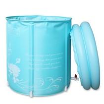 伊润 充气浴缸 环保 折叠浴桶 成人浴盆 洗澡桶 沐浴桶 65*70清仓 价格:139.00