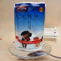 狗狗零食犬时间妙鲜包犬湿粮零食1号(鸡肉+牛肉)买10送一@ 狗罐头 价格:2.89