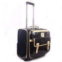 hello kitty16寸复古拉杆箱商务行李旅行箱包女可爱密码登机箱 价格:234.50