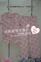 给妈妈最好的爱 夏季女士莫代尔棉短袖圆点女士睡衣套装家居服 价格:78.00