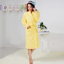 海利源 加厚加长 女士浴袍 纯棉浴衣纯棉睡袍情侣冬季女士睡衣 价格:149.60