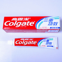 colgate 高露洁牙膏 三重功效 90克经济装 原厂正品 特价 价格:3.00