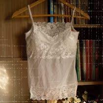 欧洲站2012春款森林系vivi蕾丝背心胸衣型吊带背心打底蕾丝打底衫 价格:25.00