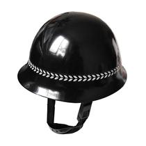 钢盔 藏蓝黑色头盔 纯钢头盔 保安钢盔 巡防钢盔 价格:55.00