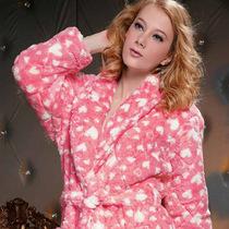 特价清仓女士珊瑚绒睡袍冬季加厚女士浴袍居家服浴袍长袖睡衣包邮 价格:98.00