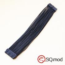 银欣ST系列通用 24Pin模组线 黑色 单线套网 50CM 可定制 价格:60.00