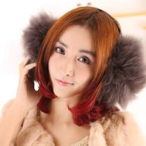 羊毛耳套可爱毛毛耳套耳罩耳包耳捂耳暖仿兔毛耳套潮男女保暖 价格:42.50