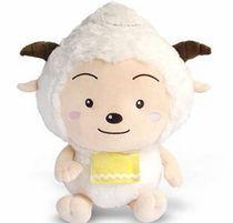 毛绒玩具娃娃喜羊羊与灰太狼/ 美羊羊/懒羊羊公仔1米2礼物 价格:120.00