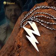 Bahamut 钛钢饰品 神火之盗宙斯闪电项链 男 价格:39.00
