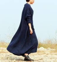 牧衣原创设计 秋季超大气场 洒脱不羁 双层大袍子 好品质 [现货] 价格:628.00